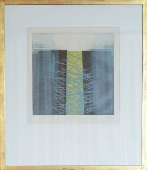 ルクセンブルク 〈Croisements〉 1986年 版画 Annette Weiwers-Probst