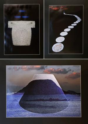 スロヴェニア 〈Spiritual garden〉シリーズより3点 2007〜2011年 写真 Metka Vergnion