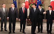 前回の日・EUサミットは昨年11月に東京で開かれた(2013年11月19日、首相官邸)