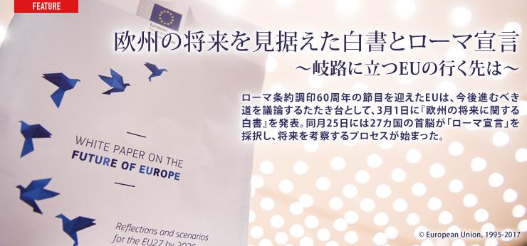 欧州の将来を見据えた白書とローマ宣言